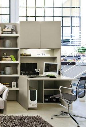 Home office di clei arredamenti trasformabili il for Arredamenti clei