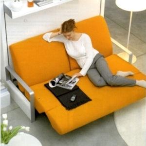 Ito di clei arredamenti trasformabili il divano fiore for Piccoli divani letto