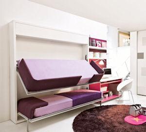Lollisoft sd di clei arredamenti trasformabili il divano fiore arredamenti torino - Mobili a scomparsa clei ...