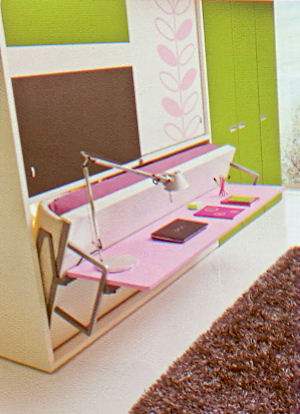 Poppi board di clei arredamenti trasformabili il divano fiore arredamenti torino - Mobili a scomparsa clei ...