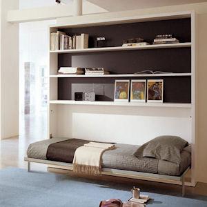 Poppi book di clei arredamenti trasformabili il divano fiore arredamenti torino - Mobili a scomparsa clei ...