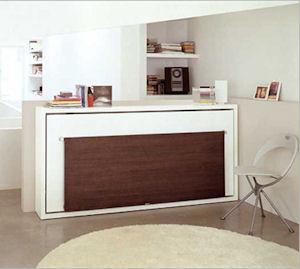 Poppi desk 90 120 di clei arredamenti trasformabili il divano fiore arredamenti torino - Mobili a scomparsa clei ...