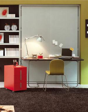 Ulisse desk di clei arredamenti trasformabili il for Arredamenti trasformabili